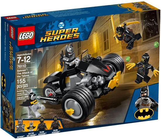 LEGO DC Super Heroes Batman: The Attack of the Talons Set #76110