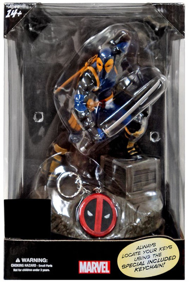 Marvel Finders Keypers X-Men Deadpool Exclusive 10-Inch Statue