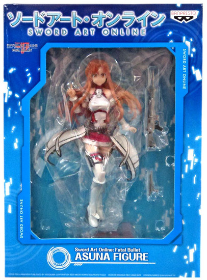Sword Art Online: Fatal Bullet Asuna 7.5-Inch Collectible PVC Figure