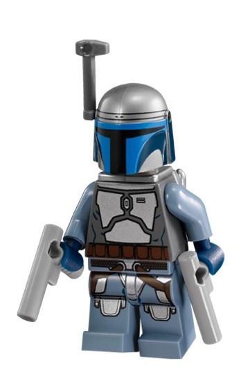 LEGO Star Wars Episode 2 Jango Fett Minifigure [75015 Loose]