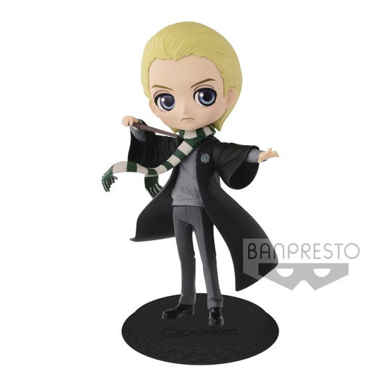 Harry Potter Q Posket Draco Malfoy 5.6-Inch Collectible PVC Figure [Normal Color Version]