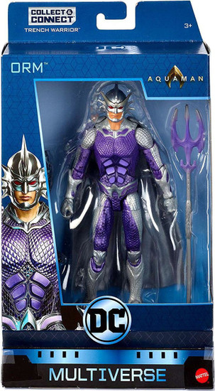 DC Aquaman Multiverse Trench Warrior Series Orm Action Figure