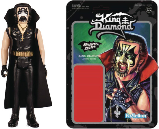 ReAction Halloween Series King Diamond Action Figure [Mercyful Fate]