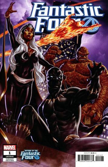 Marvel Comics Fantastic Four #1 Comic Book [Mark Brooks Cover Variant]
