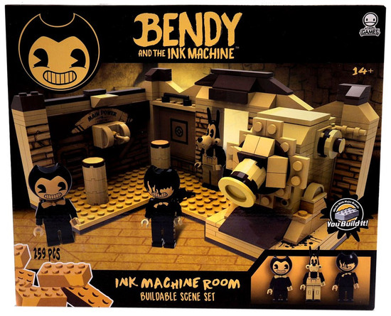 Bendy and the Ink Machine C3 Construction Ink Machine Room Buildable Scene Set