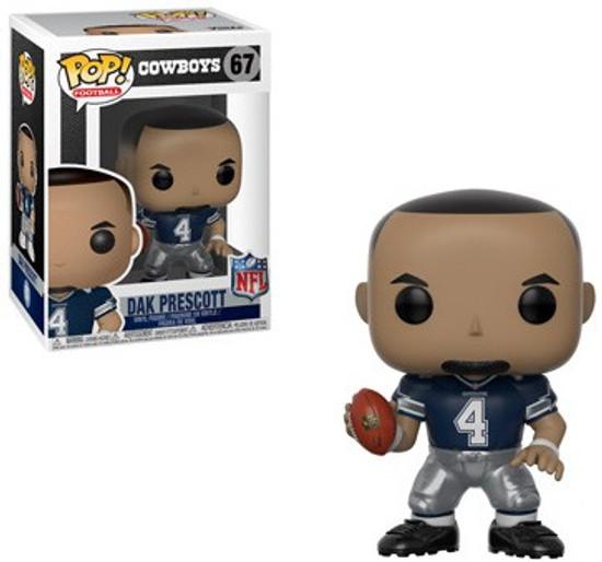 Funko NFL Dallas Cowboys POP! Sports Football Dak Prescott Vinyl Figure #67 [Blue Jersey]