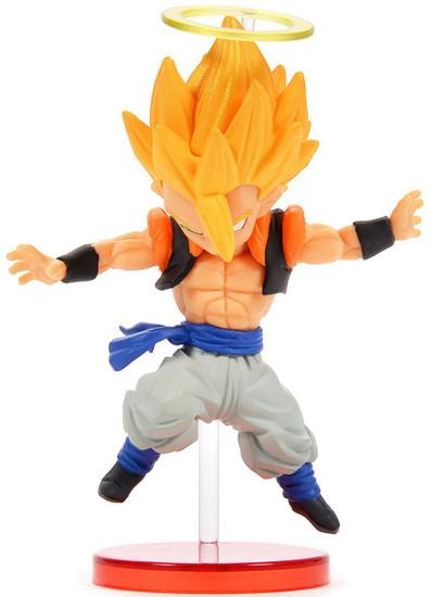 Dragon Ball Super WCF Saiyans Bravery Vol. 2 Super Saiyan Gogeta 2.8-Inch Collectible PVC Figure