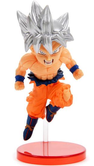 Dragon Ball Super WCF Saiyans Bravery Vol. 2 Ultra Instinct Son Goku 2.8-Inch Collectible PVC Figure