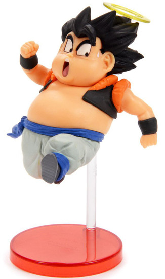 Dragon Ball Z WCF Saiyans Bravery Vol. 2 Fat Gogeta 2.8-Inch Collectible PVC Figure