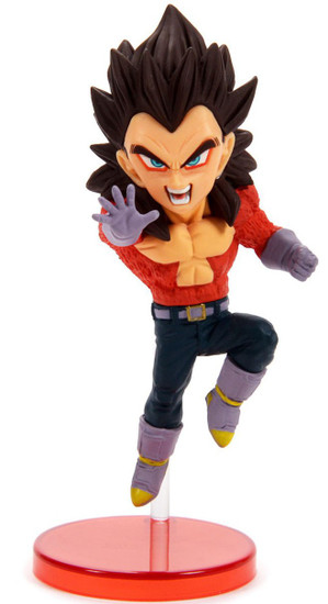 Dragon Ball GT WCF Saiyans Bravery Vol. 2 Super Saiyan 4 Vegeta 2.8-Inch Collectible PVC Figure