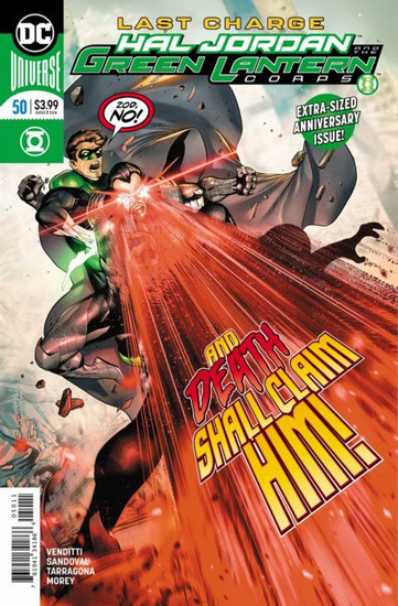 DC Hal Jordan and The Green Lantern Corps #50 Comic Book