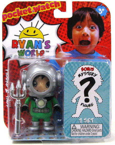 Ryan's World Dark Water Ryan & Mystery Action Figure 2-Pack