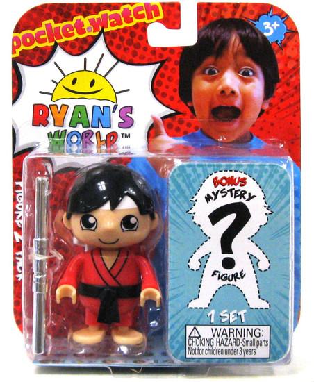 Ryan's World Taekwondo Base Ryan & Mystery Action Figure 2-Pack