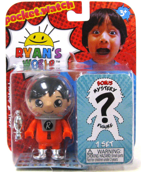 Ryan's World Space Base Ryan & Mystery Action Figure 2-Pack