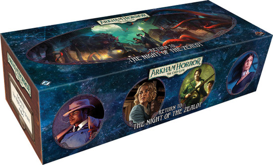Arkham Horror The Card Game Return of the Night of the Zealot Expansion