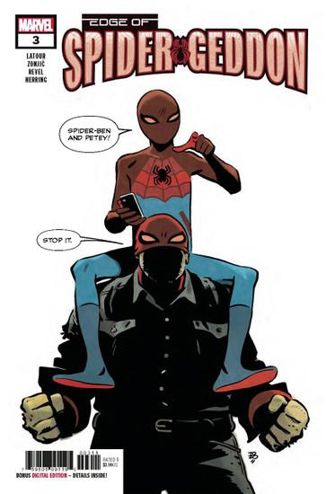 Marvel Comics Edge of Spider-Geddon #3 of 4 Comic Book