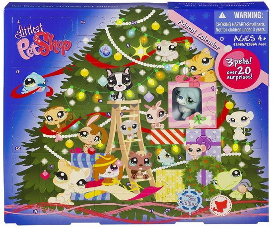 Littlest Pet Shop 2009 Advent Calendar Exclusive Figure Set