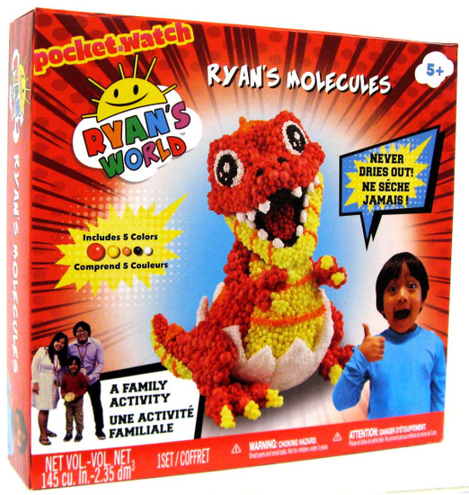 Ryan's World Ryan's Molecules Activity Set [Baby T-Rex]