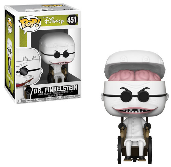 Funko Nightmare Before Christmas 25th Anniversary POP! Disney Dr. Finkelstein Vinyl Figure #451