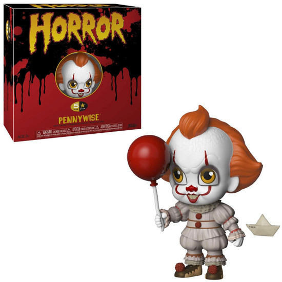 Horror IT Movie (2017) Funko 5 Star Pennywise Vinyl Figure