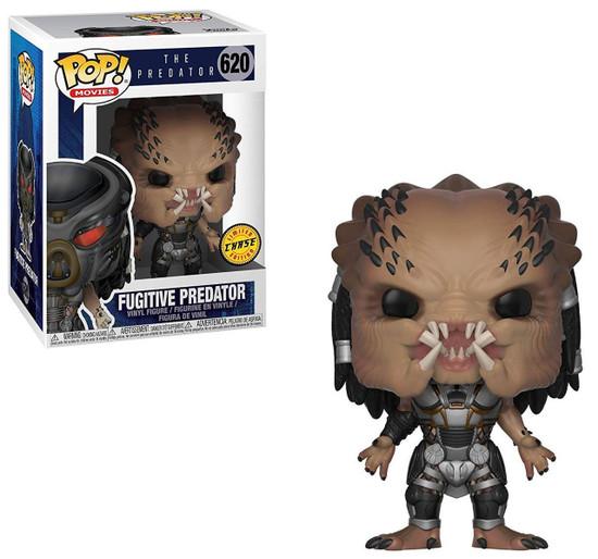 Funko POP! Movies Fugitive Predator Vinyl Figure #620 [Helmet Off, Chase Version]