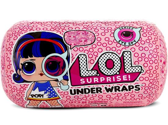 LOL Surprise Series 4 Eye Spy Big Sister Under Wraps Mystery Pack [Wave 1, Purple Hair]