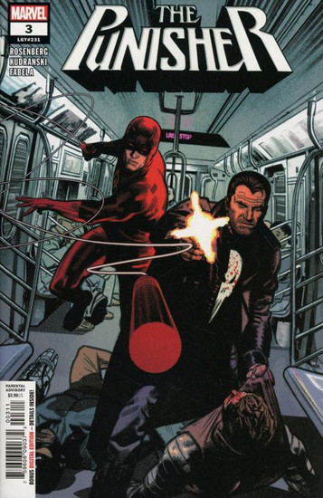 Marvel Comics The Punisher #3 Comic Book
