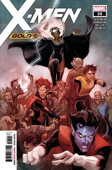 Marvel Comics X-Men Gold #35 Comic Book