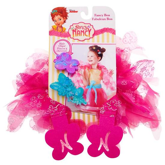Disney Junior Fancy Nancy Fancy Boa & Hair Clips [Pink]