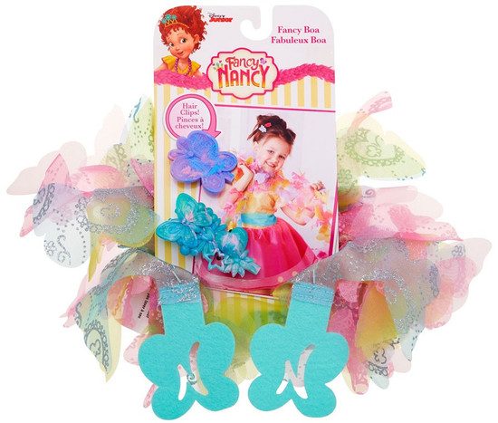 Disney Junior Fancy Nancy Fancy Boa & Hair Clips [Multicolor]