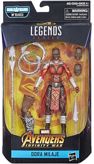 Black Panther Marvel Legends M'Baku Series Dora Milaje Action Figure