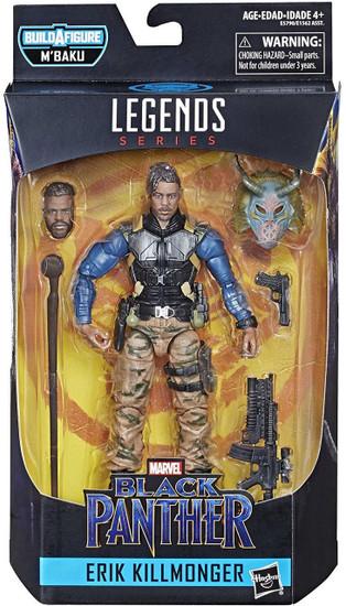 Black Panther Marvel Legends M'Baku Series Erik Killmonger Action Figure [Military]