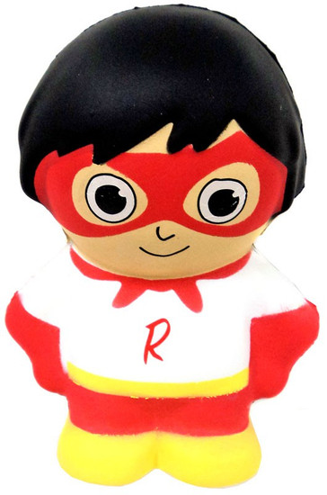 Ryan's World Squishies Red Titan 5.5-Inch Squeeze Toy