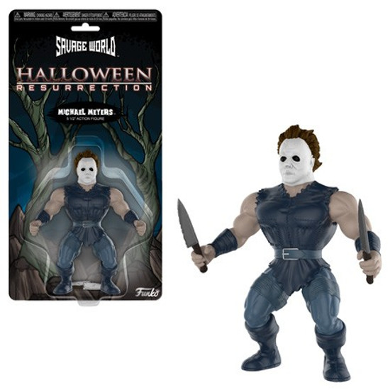 Funko Halloween Savage World Michael Myers Action Figure