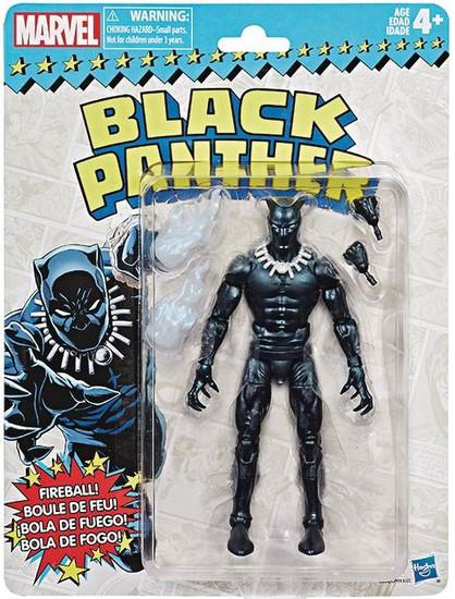 Marvel Legends Vintage (Retro) Series 2 Black Panther Action Figure [Comic Version]