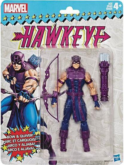 Marvel Legends Vintage (Retro) Series 2 Hawkeye Action Figure [Classic Costume]