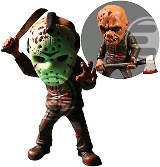Friday the 13th Deluxe Stylized Jason Voorhees Exclusive Action Figure [Glow in the Dark Mask]