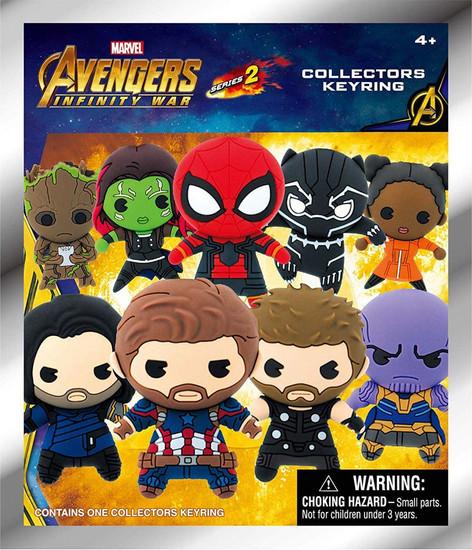 Marvel 3D Figural Keyring Avengers Infinity War Series 2 Mystery Pack [1 RANDOM Figure]