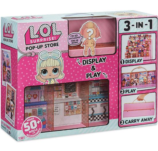 LOL Surprise Pop Up Store Carry Case & Set