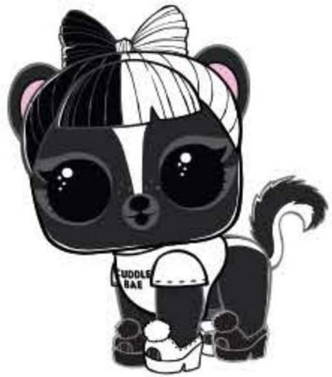 LOL Surprise Series 4 Eye Spy Pets Le Skunk Bebe Popular Figure [Includes All Accessories Loose]