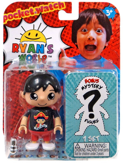 Ryan's World Ryan (Black Shirt) & Mystery Action Figure 2-Pack