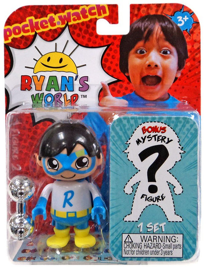 Ryan's World Blue Titan & Mystery Action Figure 2-Pack
