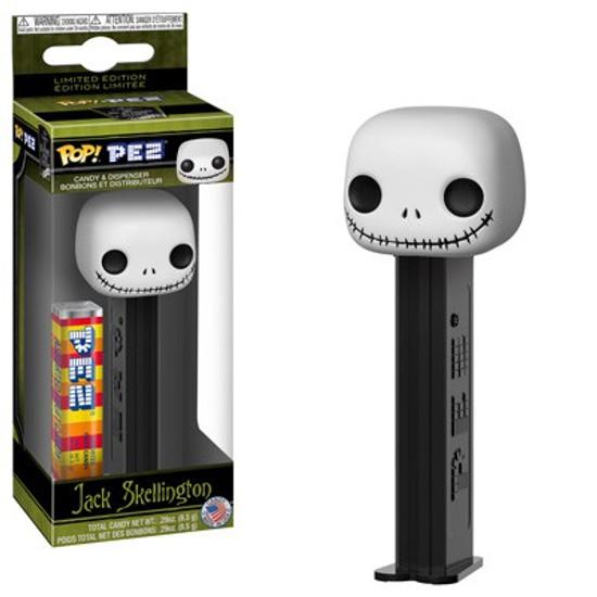 Funko Nightmare Before Christmas POP! PEZ Jack Skellington Candy Dispenser