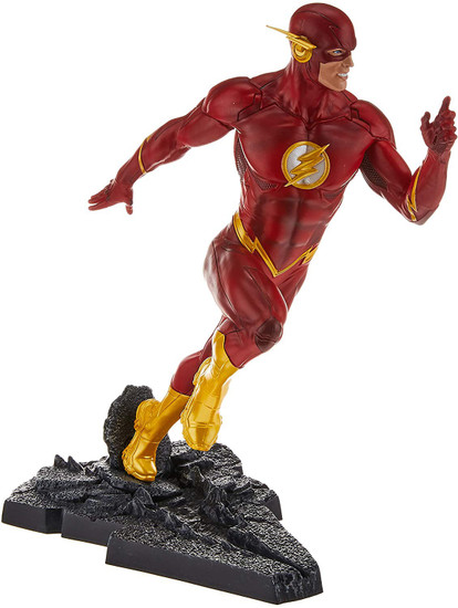 DC Core Flash 9-Inch Collectible PVC Statue