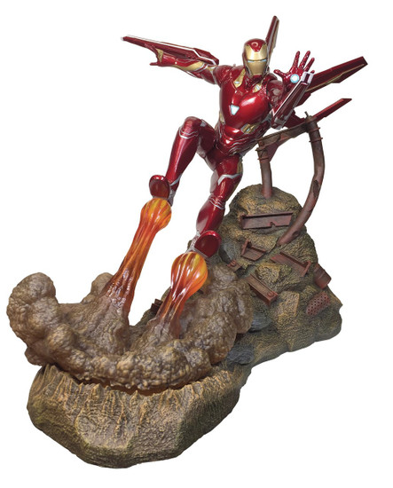 Avengers Infinity War Marvel Premier Collection Iron Man Mark L 12-Inch Resin Statue