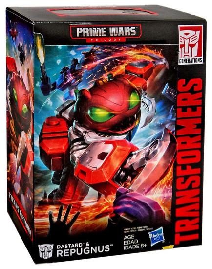 Transformers Prime Wars Trilogy Titans Return Dastard & Repugnus Deluxe Action Figure