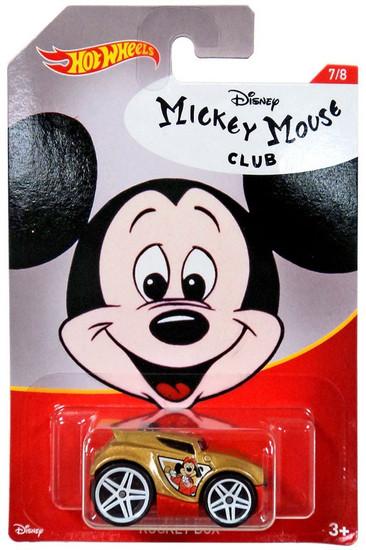 Disney Hot Wheels Mickey Mouse Rocket Box Die Cast Car #7/8