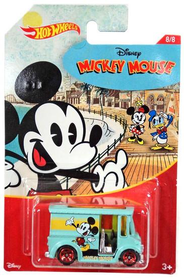 Disney Hot Wheels Mickey Mouse Bread Box Die Cast Car #8/8