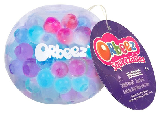 Squeezables Orbeez Purple, Pink & Blue Squeeze Toy