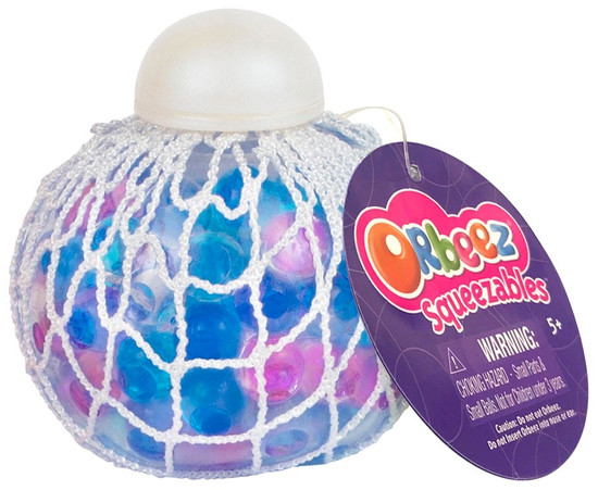 Squeezables Orbeez Blue & Purple Squeeze Toy